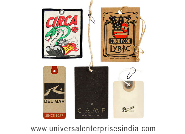Barcode Labels, Stickers, Garment Hang Tags label